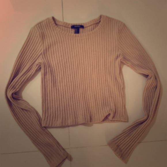 Forever 21 Tops - Sweater top beige